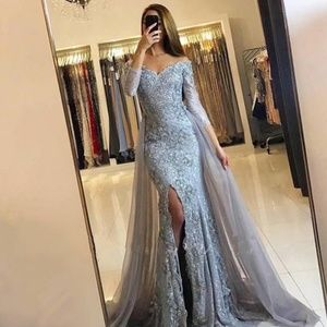 Gorgeous Lace Prom Dress